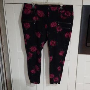 Torrid floral pants
